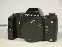 '     LX -LATE-NICE SET- ' Pentax LX Professional SLR Mechanical Camera c/w FA-1 Finder + Finger Grip £199.99